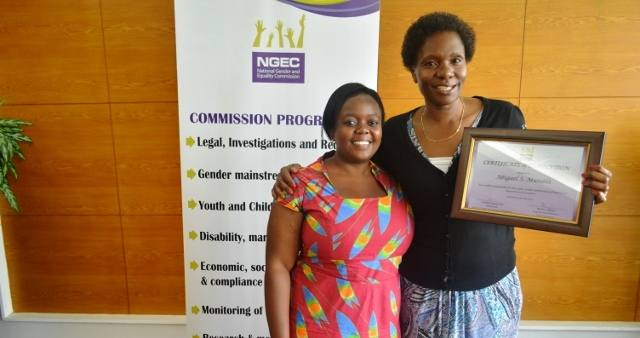 Eight graduate from NGEC's Mentorship program