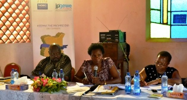 NGEC's 3rd circuit of the inquiry into child pregnancies in Kwale County